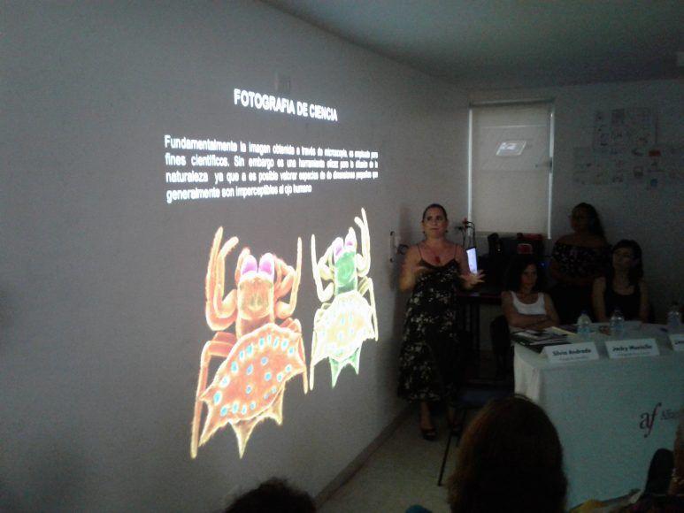 Silvana Andrade se dedica a la fotografía científica