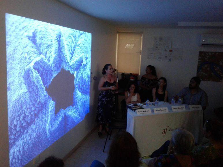 Silvana Andrade explica aspectos de su fotografía