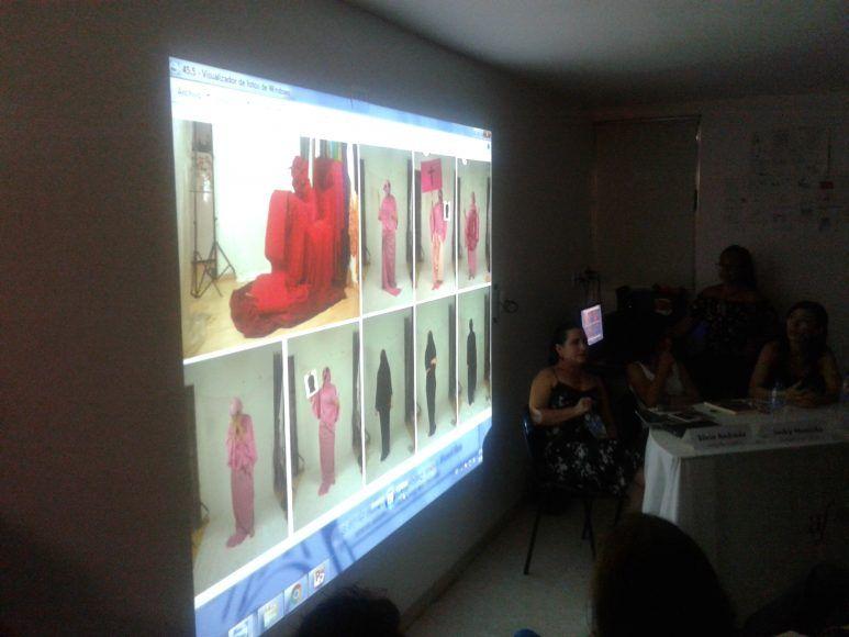 Lizette Abraham explica su proceso de montaje fotográfico