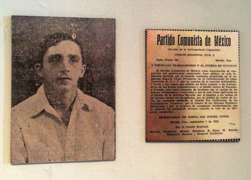 Rogelio Chalé, líder social yucateco