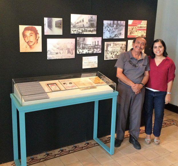 Pedro Quijano con Rosely Quijano, nuestra columnista