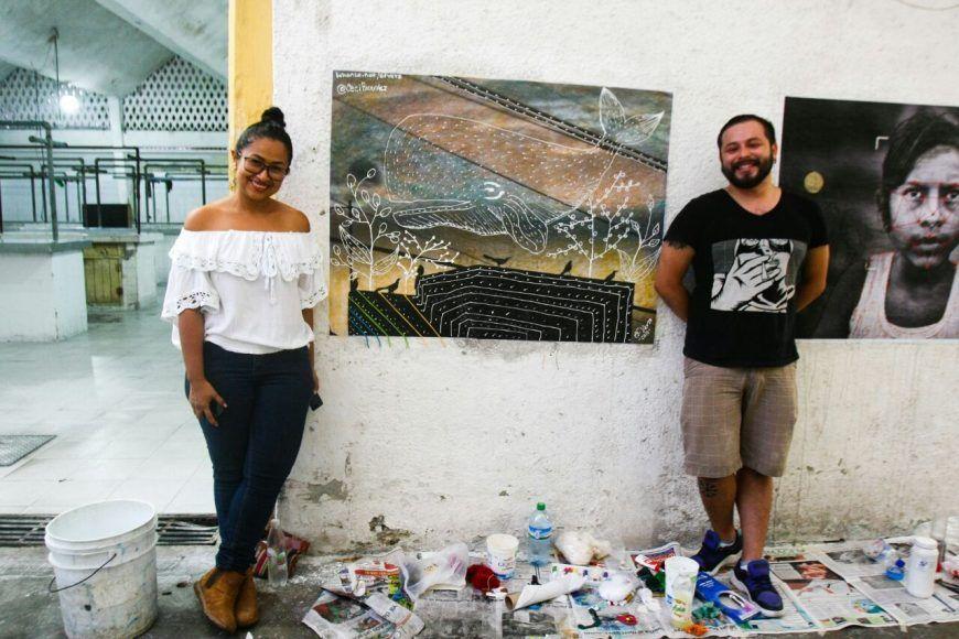 Cecilia Ricardez y Efraín Vera