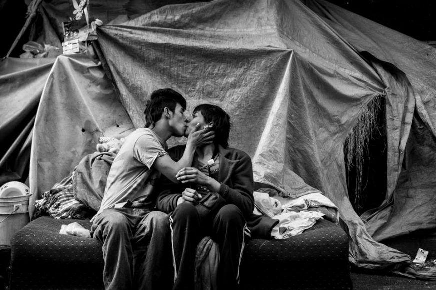 Jacky Muniello y sus fotos de realismo social
