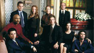 El elenco de la serie