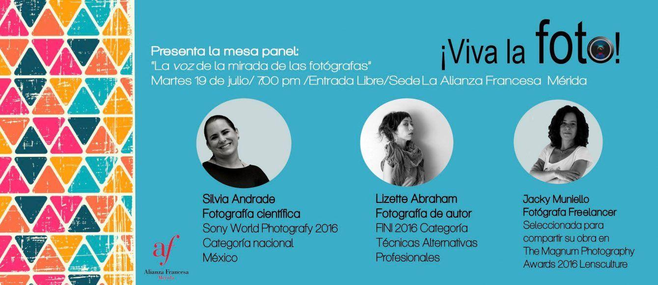 Las fotógrafas invitadas como panelistas