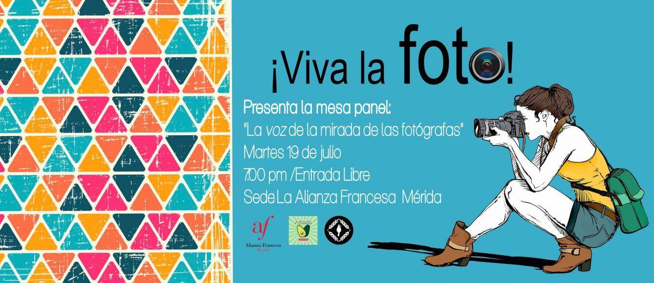 Flyer oficial del evento realizada en la Alianza Francesa Mérida