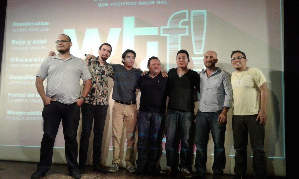 Los directores de los cortometrajes