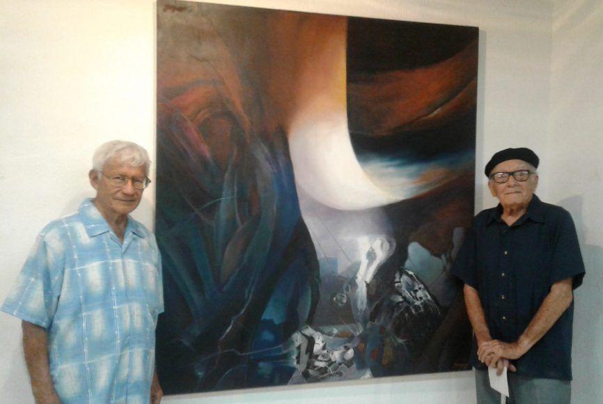 Manuel Lizama y Ermilo Torre Gamboa, artistas yucatecos