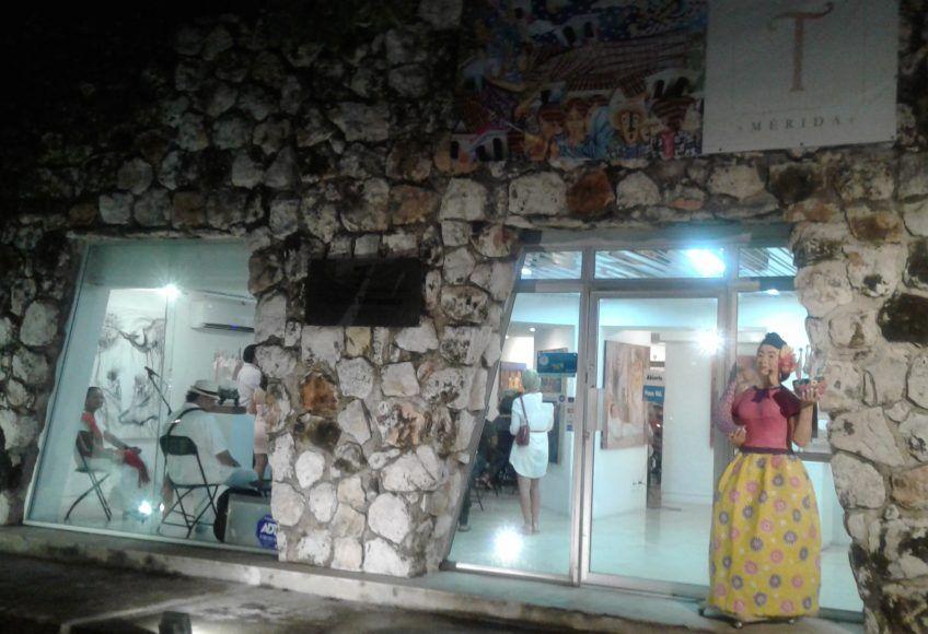 Galería Terracota vista desde Montejo