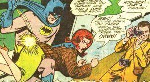 Batman también nalguea