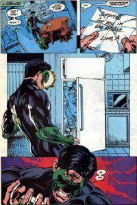 Green Lantern encuentra a su pareja