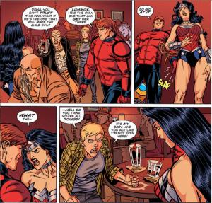 Wonder Woman se defiende del acoso