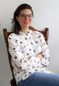 La autora del poemario
