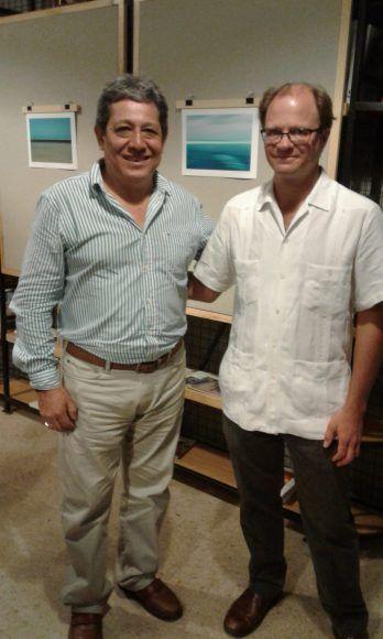 Rubén Romero con Pim Schalkwijk