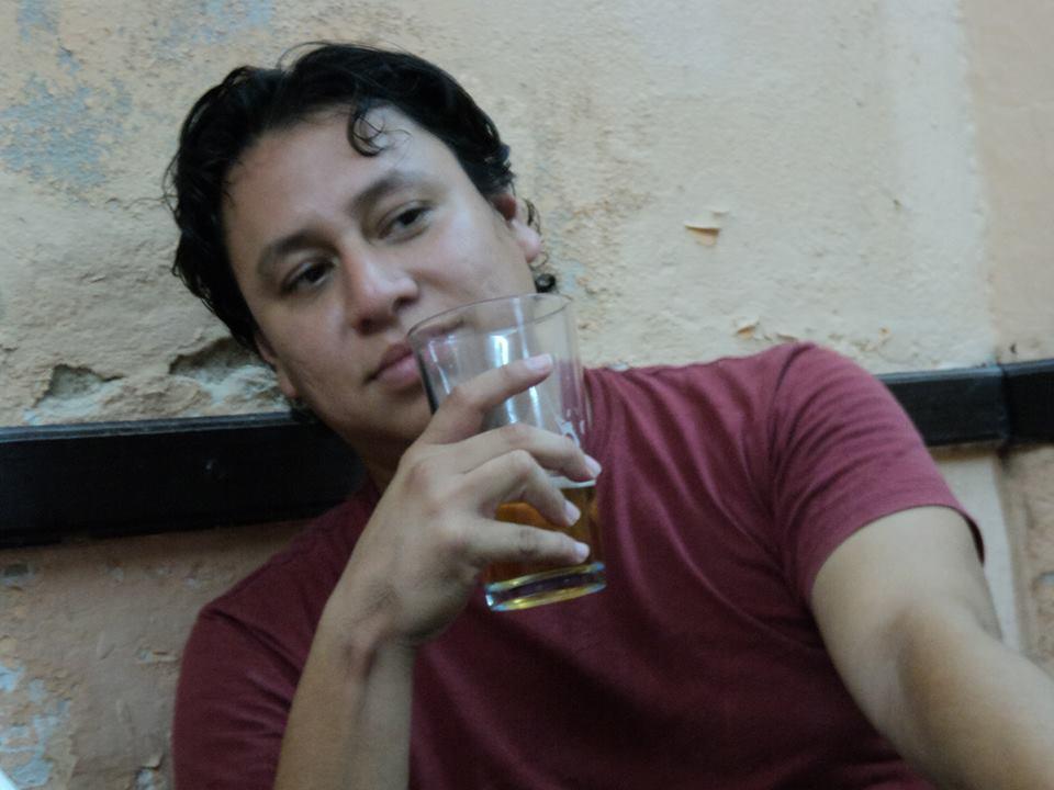 El escritor Armando Pacheco