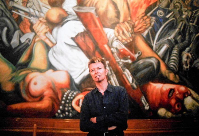 Bowie en Bellas Artes