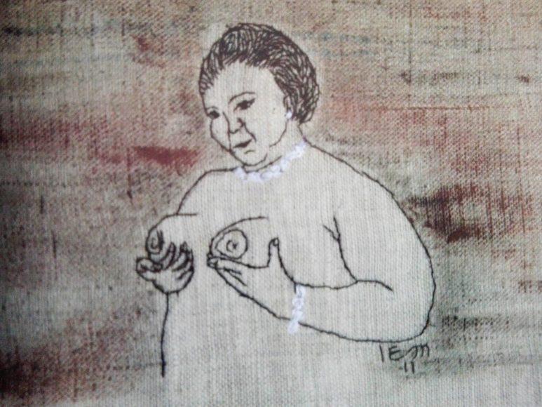 Bordado de Elena Martínez Bolio