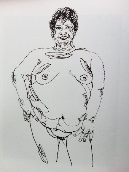 Dibujo de Gabriel Ramírez